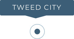 Tweed City Pin